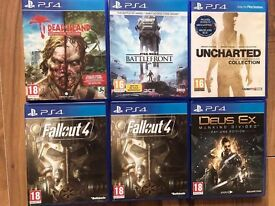playstation 4 (ps4) games , £15 each ! price stands , no offers ! NEW TITLES ADDED DAILY !