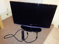 Samsung 32 Inch LCD HD Ready TV with built in freeview