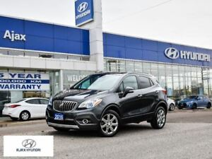 2016 Buick Encore Leather AWD Sunroof Navigation 