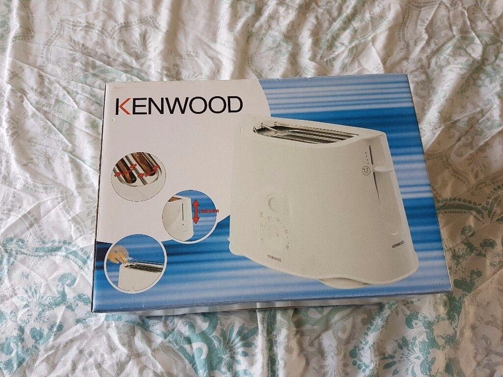 Kenwood white toaster