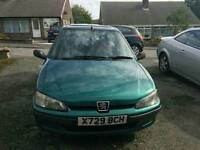 Peugeot 106 low miles long mot