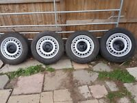 Transporter wheels and tyres