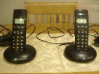a pair of BT Phones