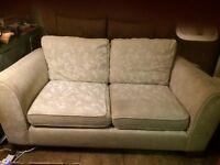 Large beige chenille sofa FREE