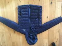 North Face Boys Jacket Large Navy Blue