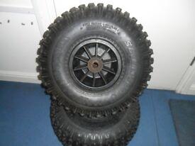 22 x 1100 - 8 tyres quad etc Kenda Scorpion