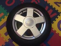 Ford Fiesta / Ford Fusion Alloy Wheel 185/55/R15