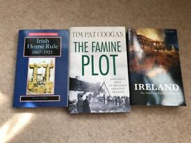 Ireland and Irish Home Rule books in excellent condition