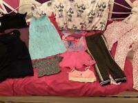 9-10 years girls bundle £8