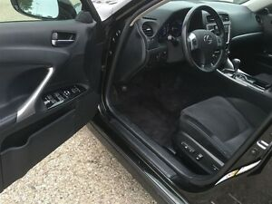 2012 Lexus IS 250 Show Room Condition Paddle Shift Awd  Black On Kitchener / Waterloo Kitchener Area image 10