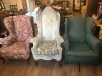 Large Armchairs - free local delivery