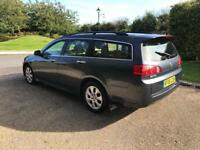 HONDA ACCORD 2006 2.2 EXECUTIVE DIESEL 1 YEAR MOT SAT NAV FULL LEATHER DRIVES THE BEST