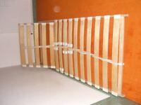 Ikea adjustable wood slatted single bed base
