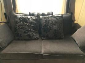 Fabric sofa, 3 seater + 2 sweater.