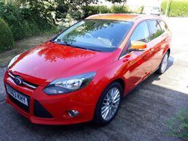Ford Focus Estate Ecoboost 125