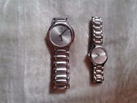 AUTHENTIC NEW RADO FLORENCE HIS AND HERS WATCHES,SAPHIRE,SWISS MADE