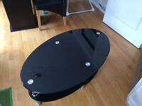 **Cheap** - Glossy Black Coffee Table