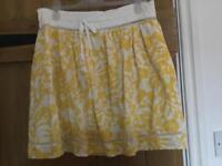 Mango casual sportswear skirt size 10