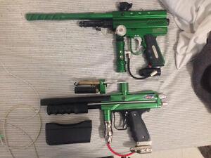 OG Paintball Markers Rare Impulse and Autococker Pump