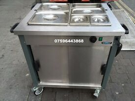 CATERING COMMERCIAL BAIN MARIE FAST FOOD RESTAURANT PIZZA KEBAB SHOP KITCHEN BAR