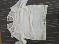River island size 14 top
