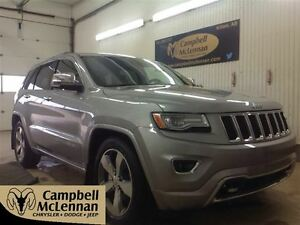 2015 Jeep Grand Cherokee Overland Remote Start, NAV, Sunroof