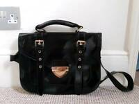 Warehouse Black Satchel