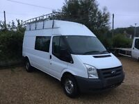 2009 , Ford, transit , crew cab , long wheel base , 2400cc , full ford service history ,