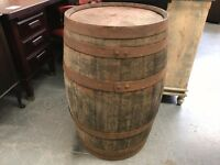 40 Gallon Whiskey Barrel