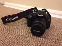 Canon 600D (Excellent/Good Condition) with Lens, Charger and Manual