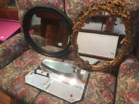 Mixed Mirrors lots to see £60 each ...