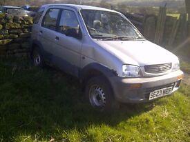 Daihatsu Terios 1998 - Breaking for spares