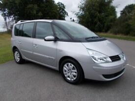 2007 57 RENAULT ESPACE 2.0 TEAM DCI 130 7 SEATER MPV IN METALLIC SILVER CALL 07791629657