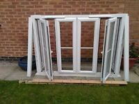 PVC BAY WINDOW IN WHITE