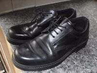 GOOD QUALITY MENS FORMAL BLACK SHOES SIZE 10 ONLY £5