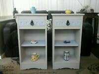Shabby Chic Bedside Units