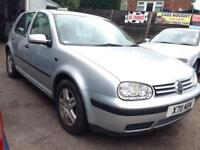 2001 VOLKSWAGEN GOLF MK4. 1.4 PETROL. BREAKING FOR PARTS SPARES ONLY. silver