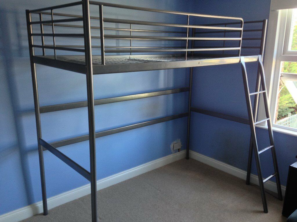 Ikea Svarta Loft Bunk Bed Frame 163 55 Ono In Chingford