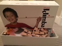 Kimba wooden musical marble run. Fun to build and plays musical notes as the marbles run age 5+