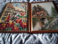 Authentic Victorian cross stitch pictures