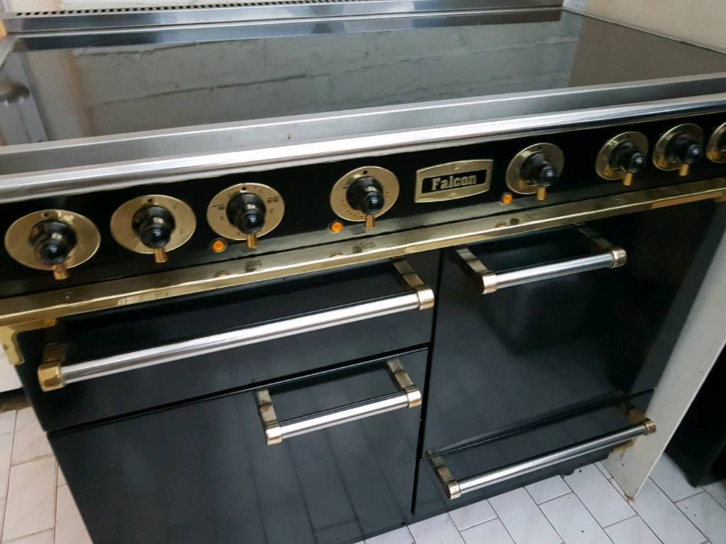 Falcon Electric Deluxe Range Cooker 110CM Black