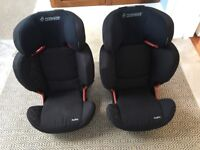 2 Maxi Cosi RodiFix car seats for sale(sold as a pair)