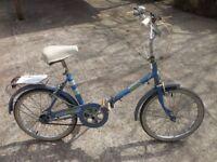 Original Halfords Wayfarer folding bike
