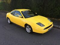 FIAT COUP 20V COUPE, 02 DOOR 1.998cc , LEATHER SEATS