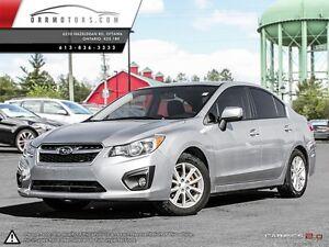 2012 Subaru Impreza TOURING, MANUAL TRANSMISSION.