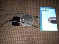 Amazon echo dot as new only used once