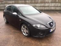Seat Leon 2.0 tdi fr 2006 06 plate 6 speed manual sports seats alloy wheels privacy glasses