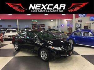 2014 Honda Civic LX 5 SPEED A/C CRUISE BLUETOOTH 91K