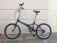"New Challenge Flex 20"" Folding Bike. Great Condition."