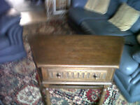 OLD HALL TABLE WITH DRAW